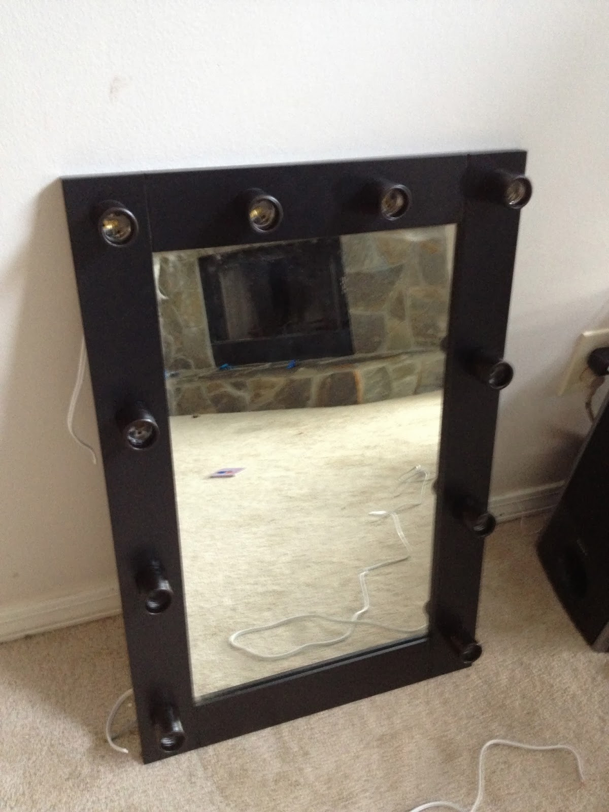 Best ideas about DIY Lighted Mirror . Save or Pin Beauty Fashion and Lifestyle Blog DIY Lighted Makeup Now.