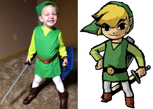 Best ideas about DIY Link Costume . Save or Pin Easy DIY Costume Link for Kids Geeks Under Grace Now.