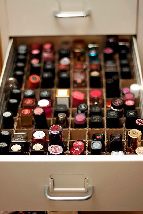 Best ideas about DIY Lipstick Organizer . Save or Pin Best 25 Diy lipstick holder ideas on Pinterest Now.