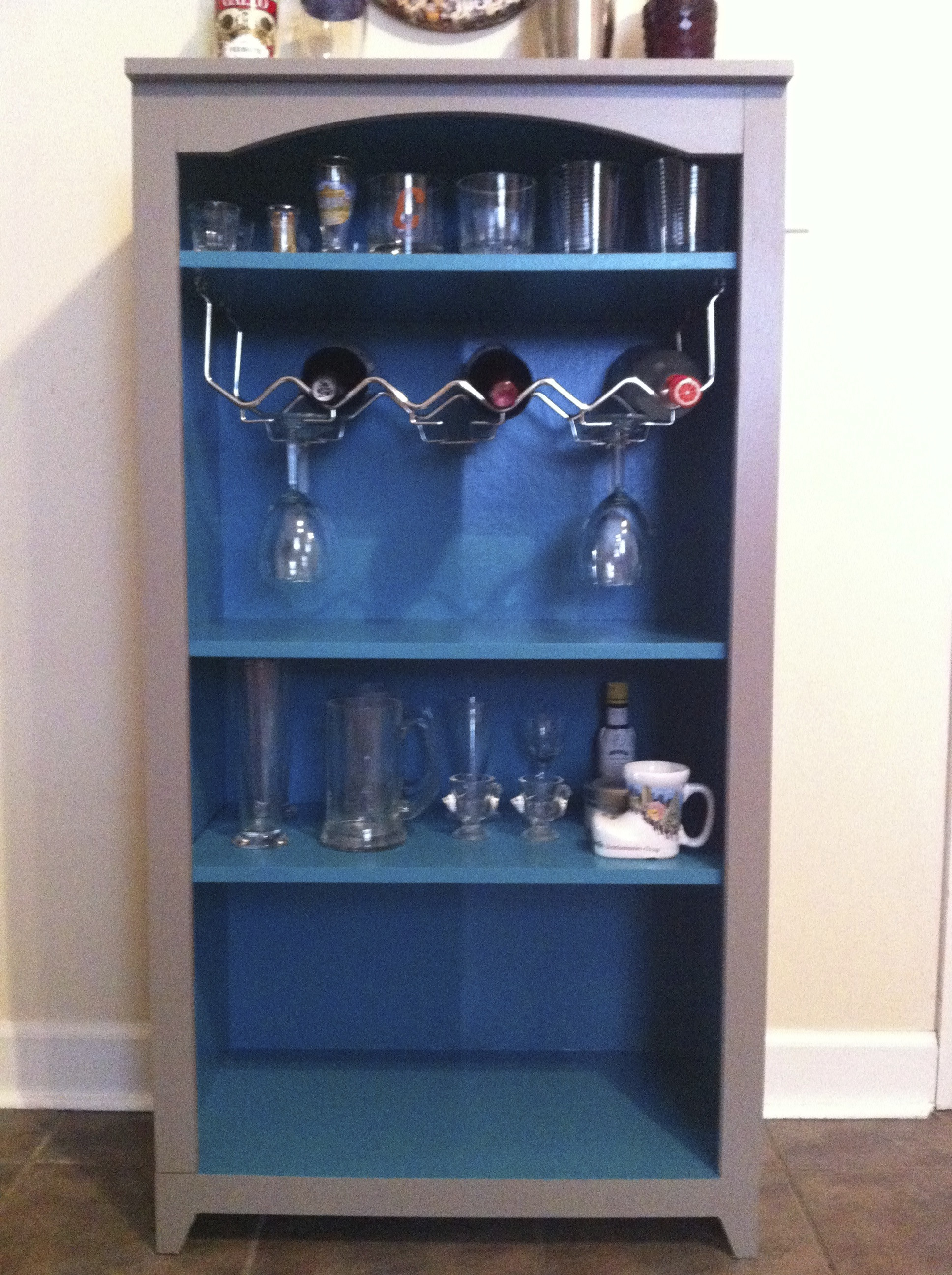 Best ideas about DIY Liquor Cabinet . Save or Pin DIY Liquor Cabinet – Bourgie Shoes Now.
