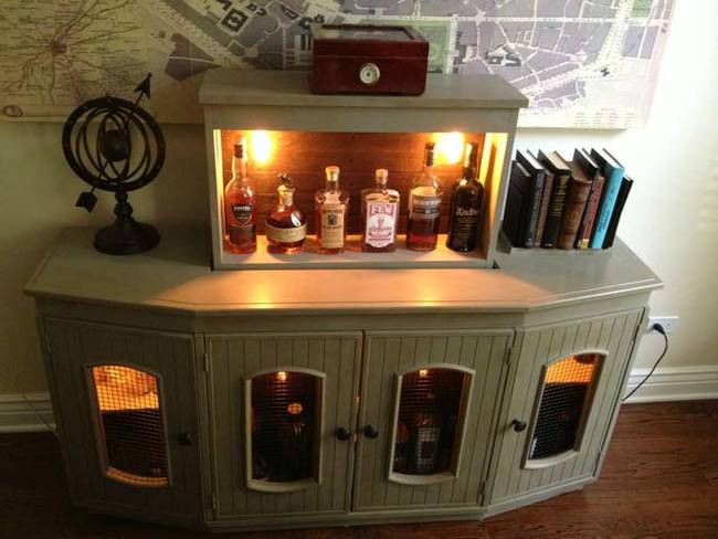 Best ideas about DIY Liquor Cabinet . Save or Pin A DIY Liqour Cabinet Perfect For Hiding Your Booze Now.
