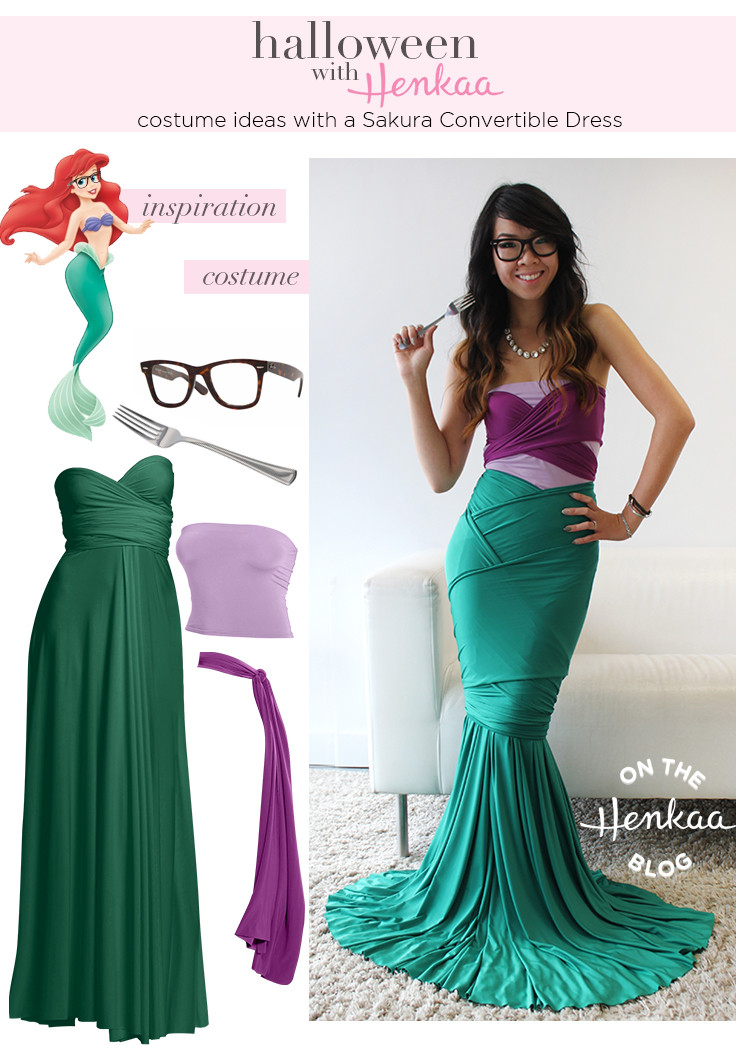 Best ideas about DIY Little Mermaid Costume . Save or Pin DIY Little Mermaid Halloween Costume s and Now.
