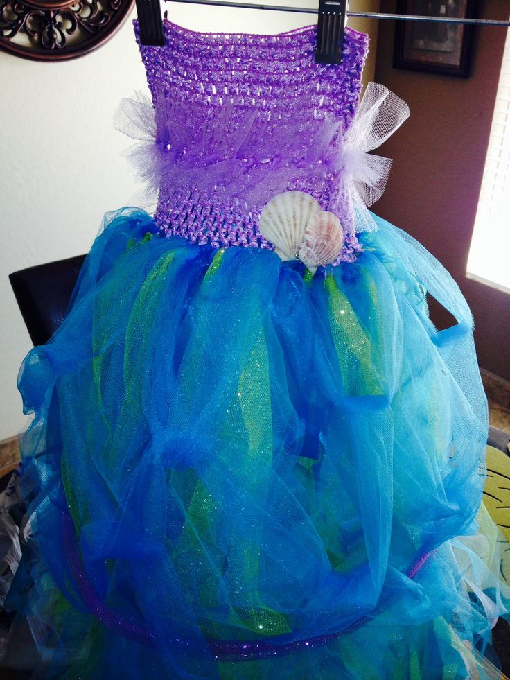 Best ideas about DIY Little Mermaid Costume . Save or Pin Little mermaid costume DIY Now.