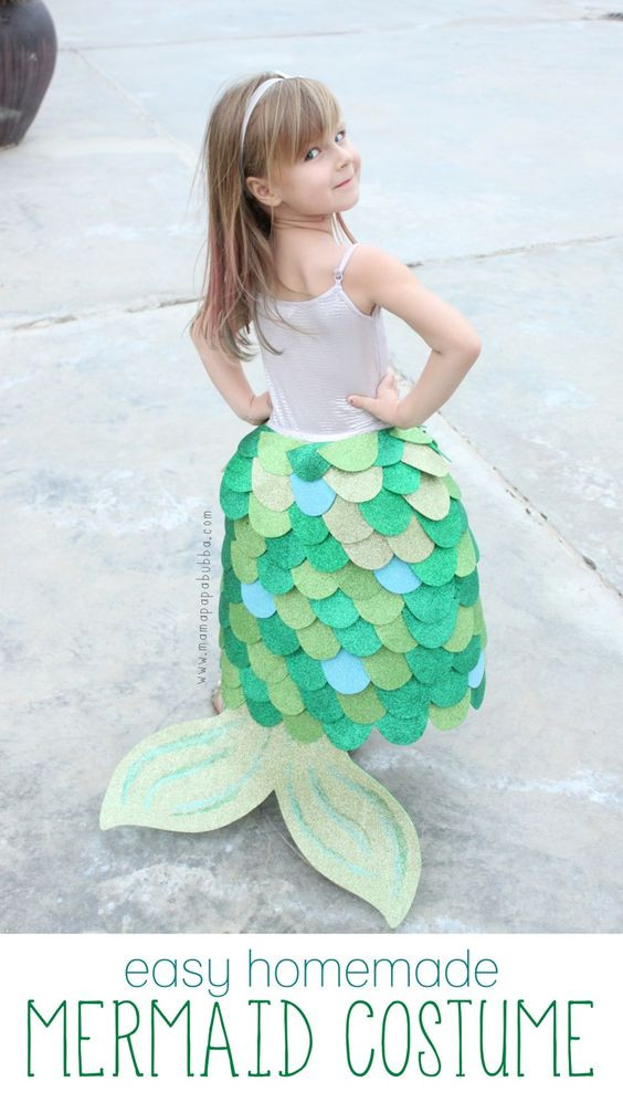 Best ideas about DIY Little Mermaid Costume . Save or Pin 25 Mermaid Costumes and DIY Ideas 2017 Now.