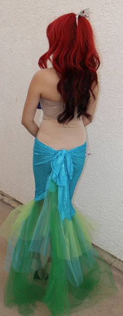 Best ideas about DIY Little Mermaid Costume . Save or Pin DIY Mermaid costume DIY ariel little mermaid costume 1 Now.