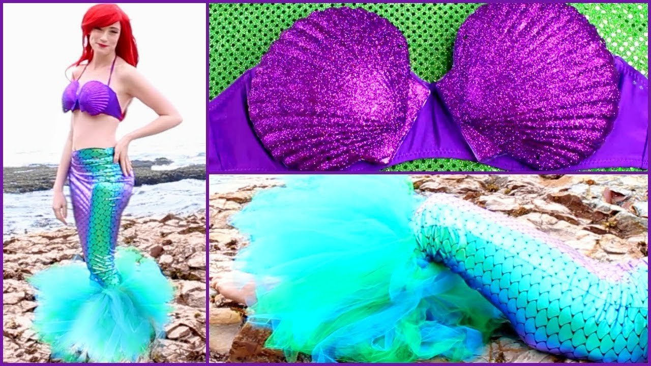 Best ideas about DIY Little Mermaid Costume . Save or Pin DIY Ariel Halloween Costume Disney s The Little Mermaid Now.