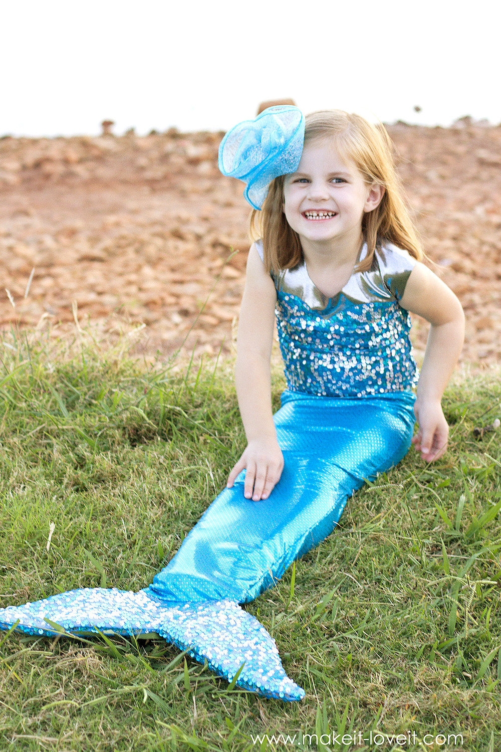 Best ideas about DIY Little Mermaid Costume . Save or Pin DIY Mermaid Costume with a REPOSITIONABLE Fin Now.