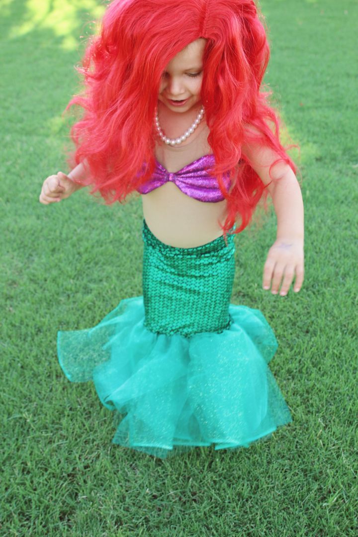 Best ideas about DIY Little Mermaid Costume . Save or Pin DIY Little Mermaid Costume halloween Now.