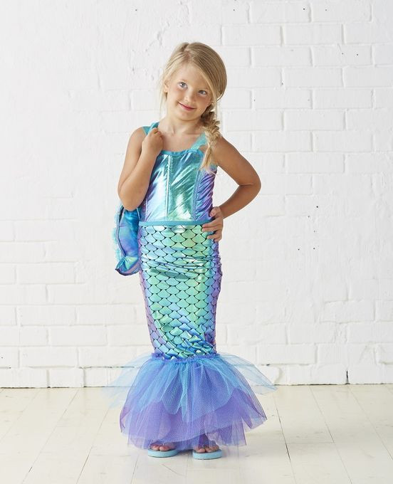 Best ideas about DIY Little Mermaid Costume . Save or Pin Kids Mermaid Costume Now.