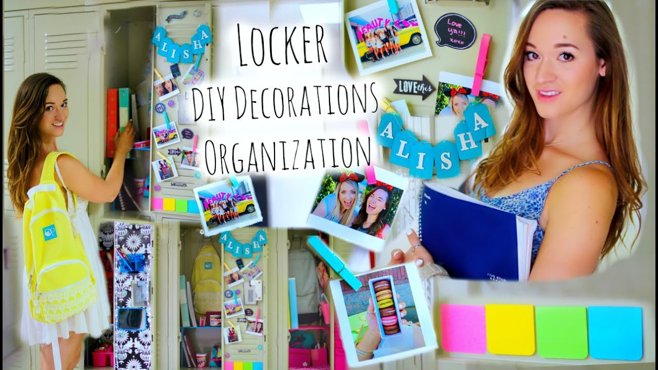 Best ideas about DIY Locker Decorations And Organization . Save or Pin DIY Locker Organization Decor Tumblr Inspired Back to Now.