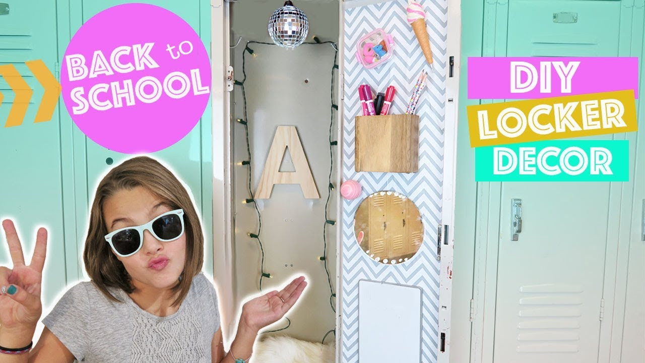 Best ideas about DIY Locker Decorations And Organization . Save or Pin Back To School DIY Locker Decor and Organization Now.