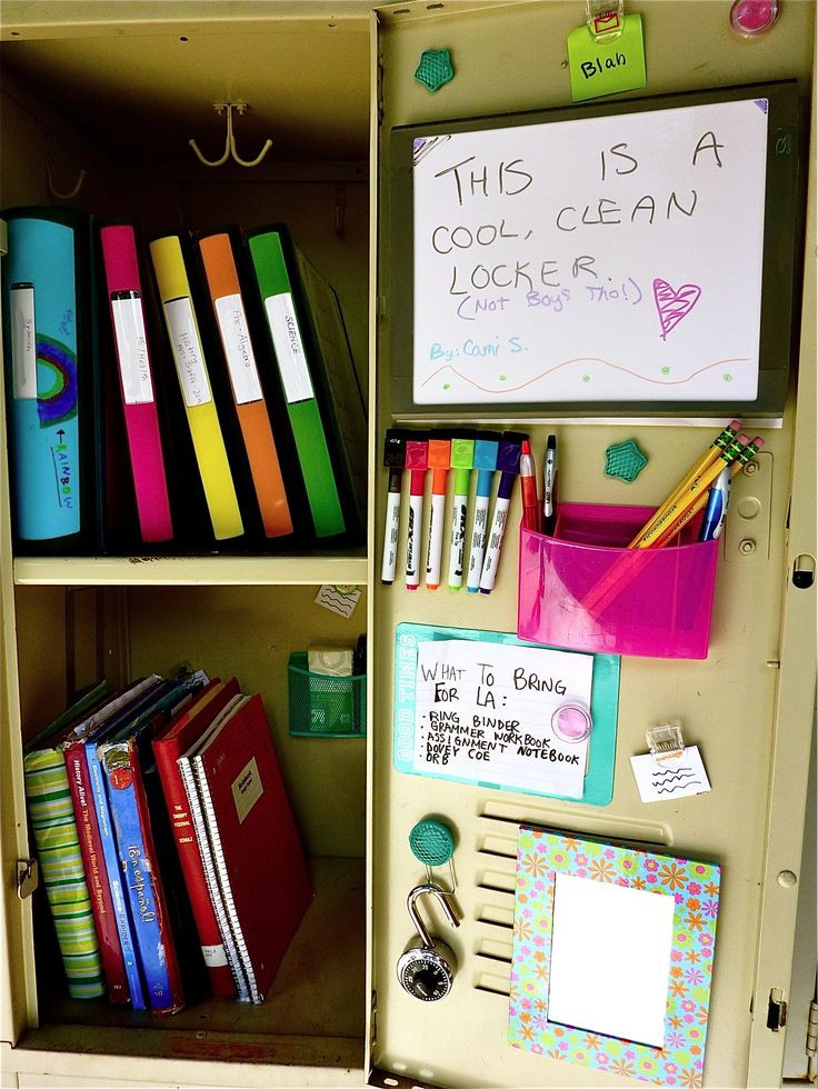 Best ideas about DIY Locker Decorations And Organization . Save or Pin Easy DIY Locker Decorations Ideas For Teenagers Now.