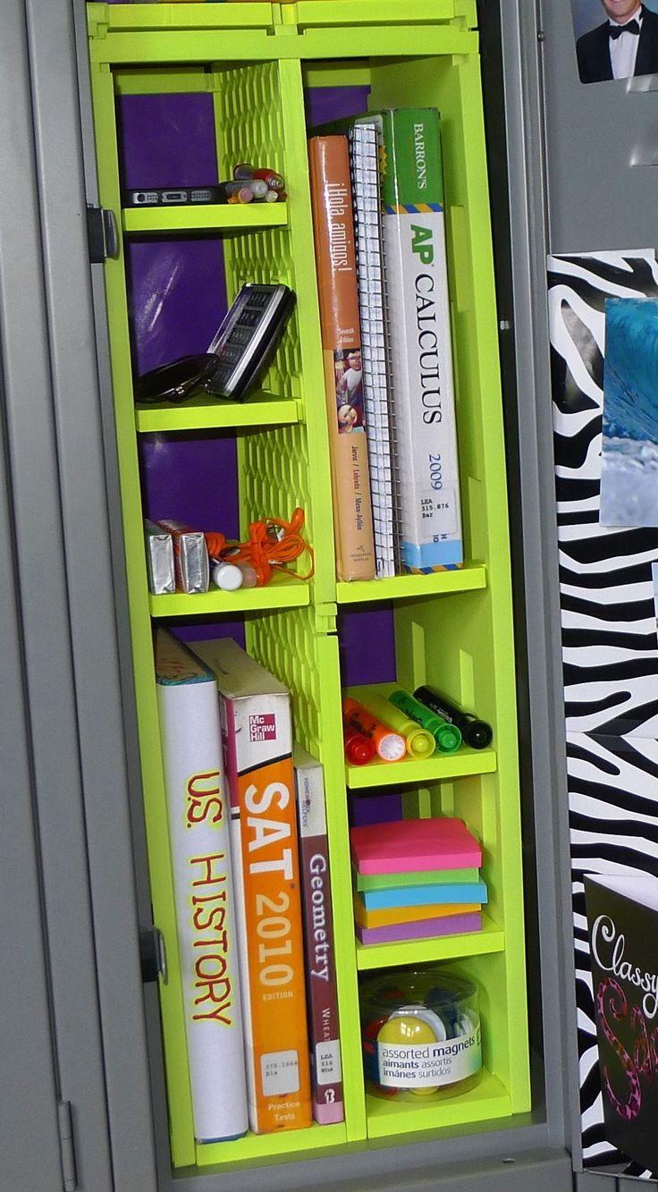 Best ideas about DIY Locker Decorations And Organization . Save or Pin 25 best ideas about Locker Designs on Pinterest Now.
