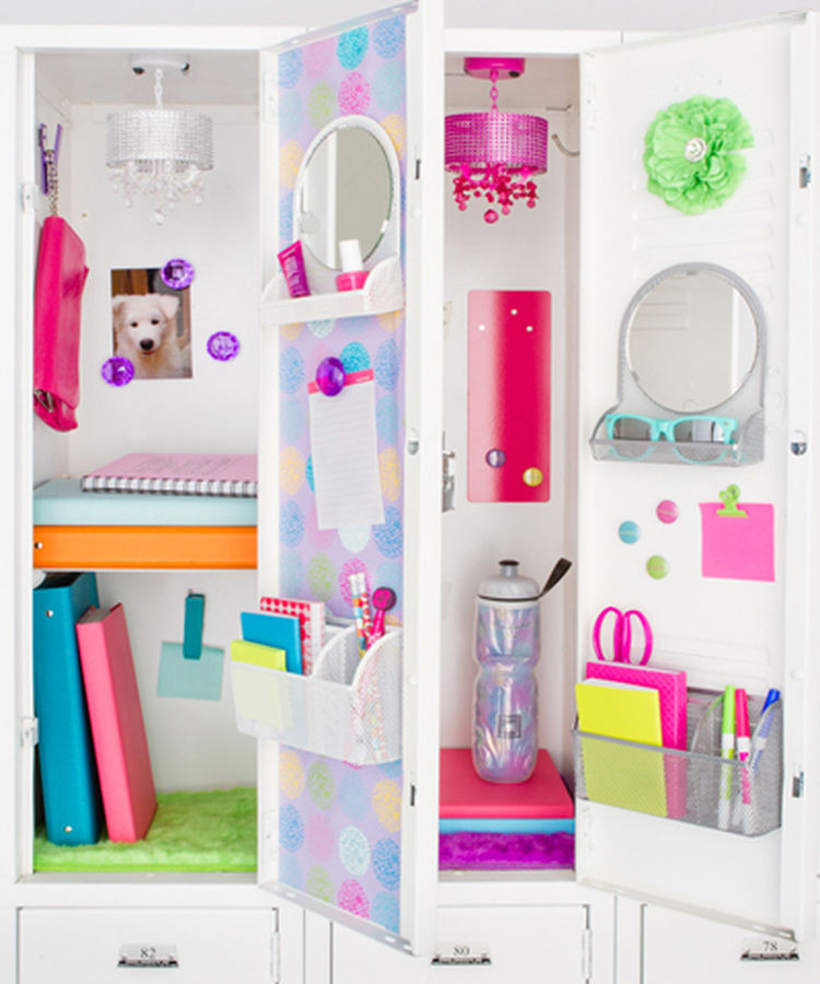 Best ideas about DIY Locker Decorations And Organization . Save or Pin 12 Ways to Have the Coolest Locker in the Hallway Now.