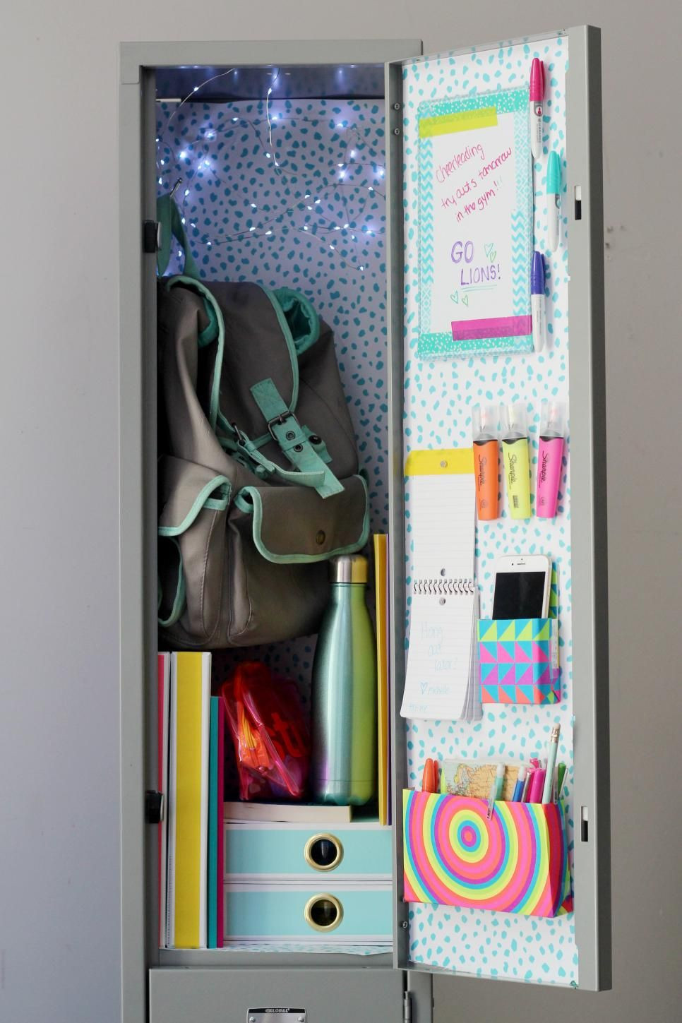 Best ideas about DIY Locker Decorations And Organization . Save or Pin 22 DIY Locker Decorating Ideas Back to School Now.