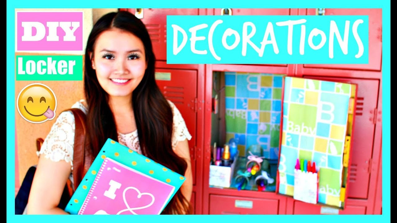Best ideas about DIY Locker Decorations And Organization . Save or Pin Back To School DIY Locker Organization & Decorations Now.