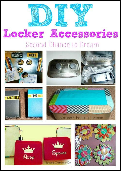 Best ideas about DIY Locker Decorations And Organization . Save or Pin DIY Locker Accessories Clean & Organize Now.