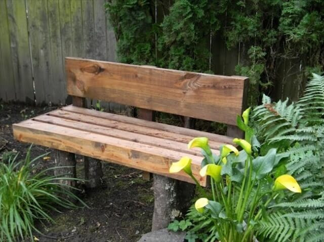 Best ideas about DIY Log Bench . Save or Pin 11 Amazing DIY Log Wood Ideas Now.