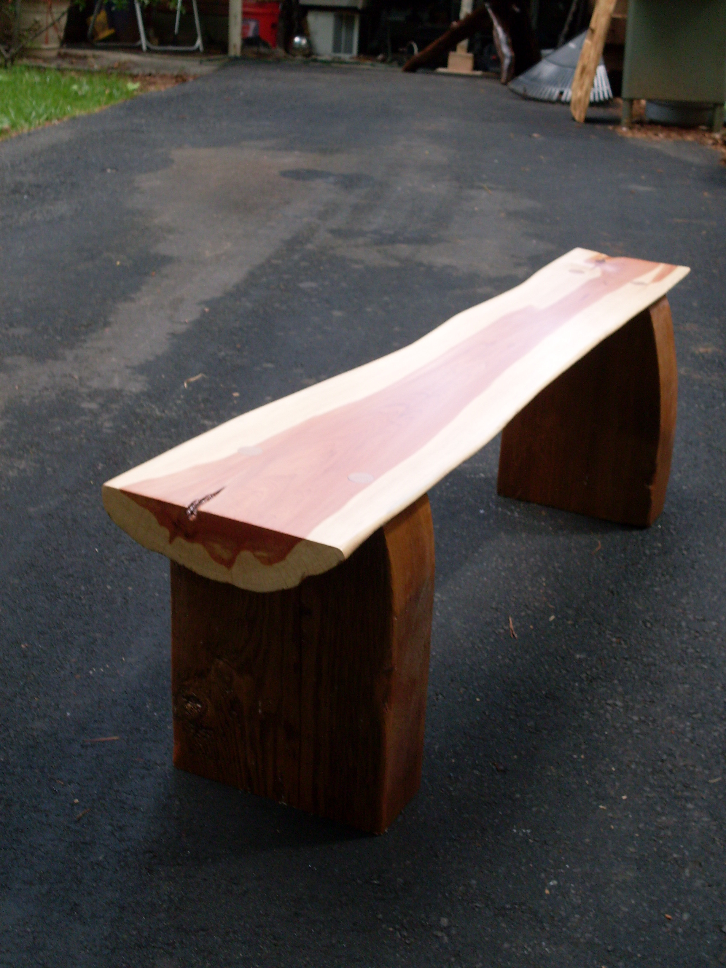 Best ideas about DIY Log Bench . Save or Pin DIY Log Bench Plans Download woodworking small projects Now.