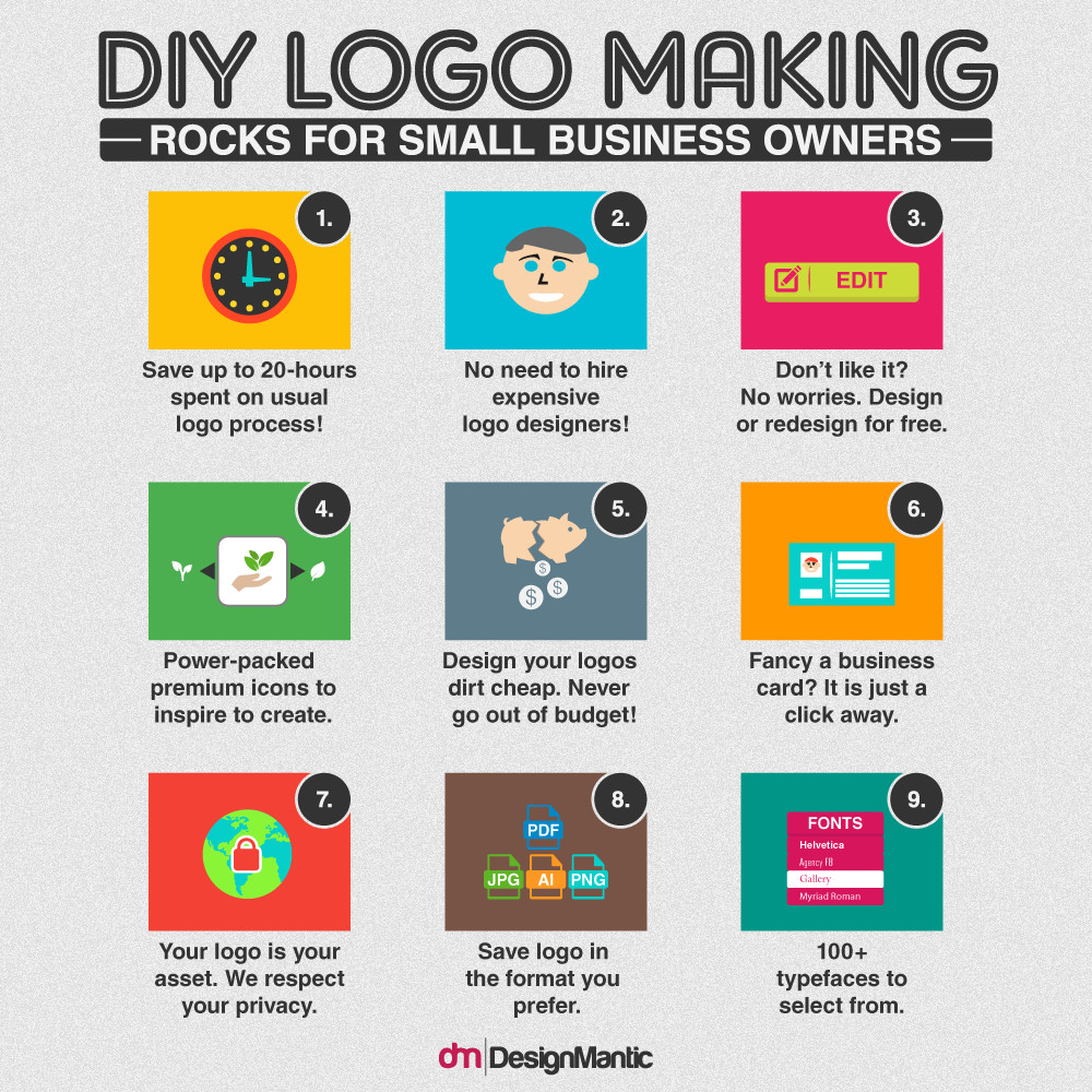 Best ideas about DIY Logo Design . Save or Pin DIY Logo Maker Is What SMBs Need Now.