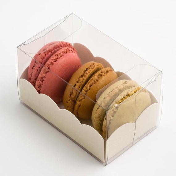 Best ideas about DIY Macaron Box . Save or Pin 50 x Clear Transparent Macaroon Macaron DIY Favour by Now.