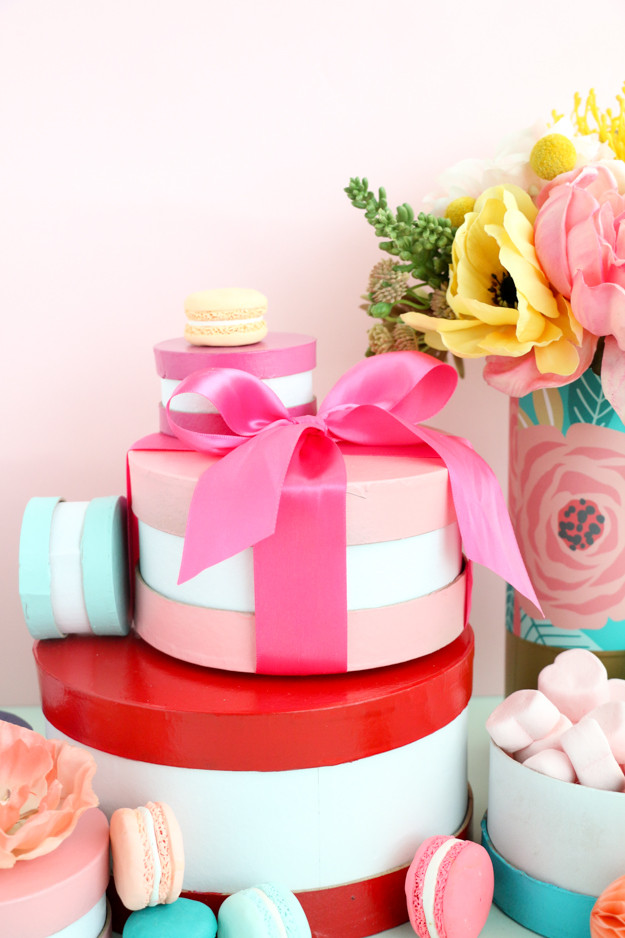 Best ideas about DIY Macaron Box . Save or Pin Craft It Colorful Macaron Gift Boxes A Kailo Chic Life Now.