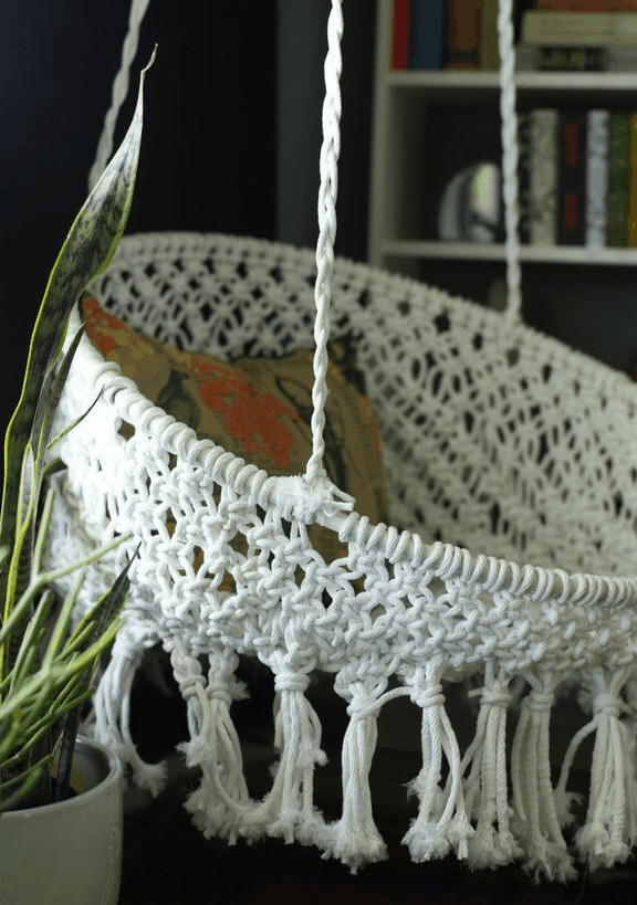 Best ideas about DIY Macrame Chair . Save or Pin Top 10 DIY Hanging Chairs Projects To Try This Spring Now.