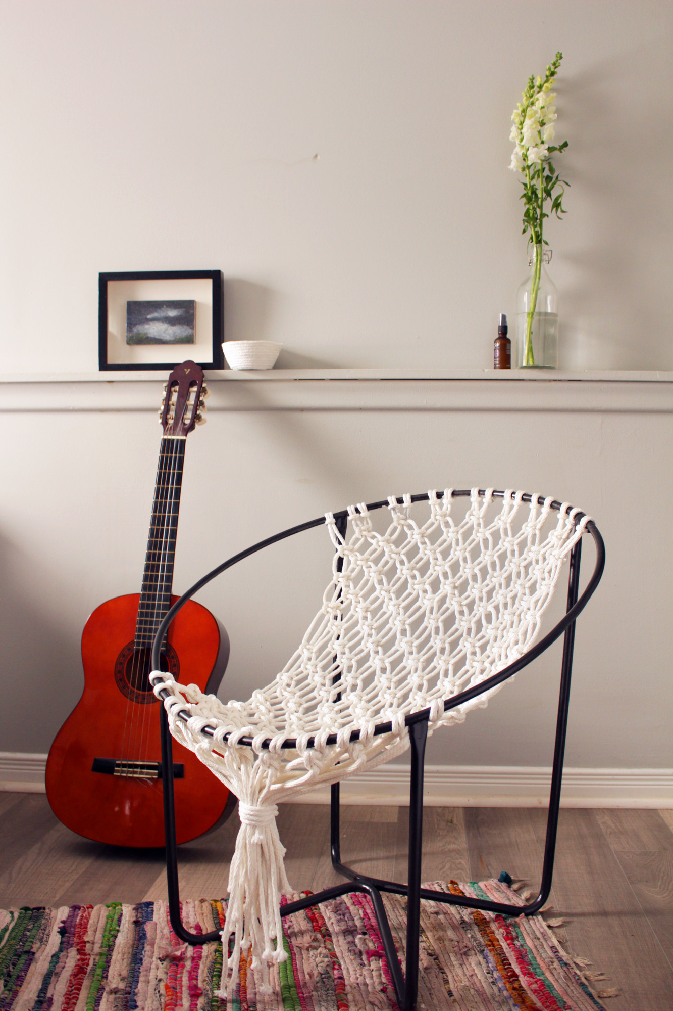 Best ideas about DIY Macrame Chair . Save or Pin DIY Macrame Hammock Chair Now.