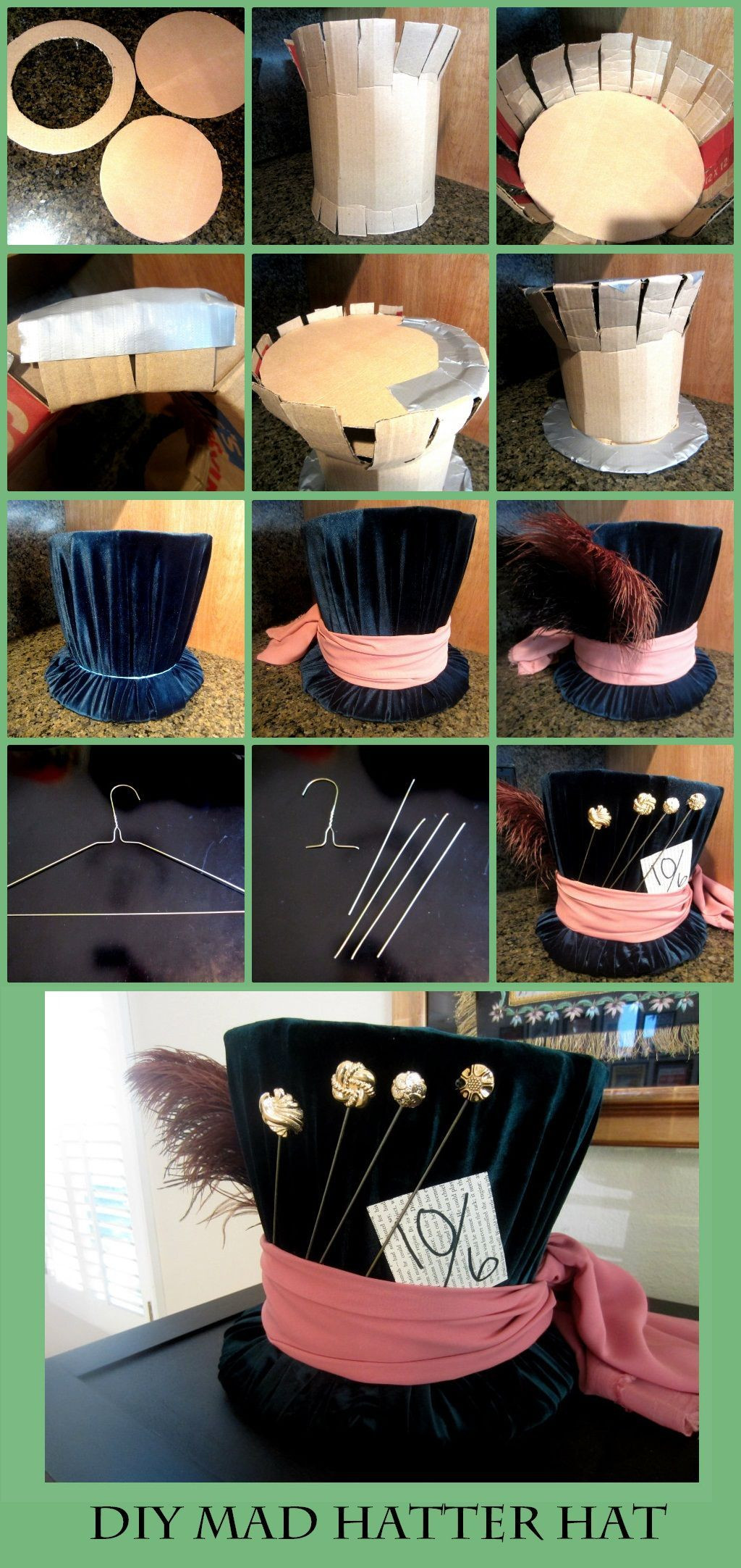 Best ideas about DIY Mad Hatter Hat . Save or Pin DIY Mad Hatter Top Hat Now.
