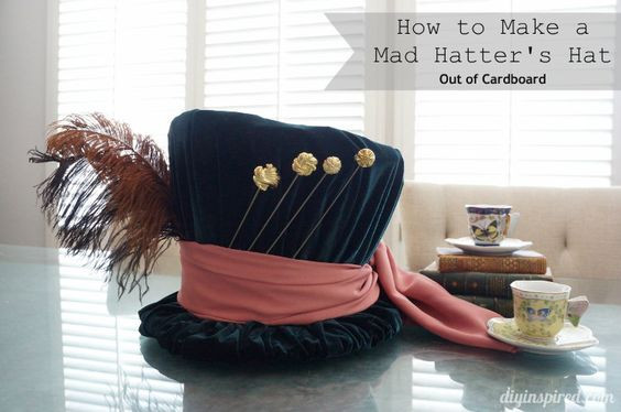 Best ideas about DIY Mad Hatter Hat . Save or Pin DIY Mad Hatter Top Hat part of a series of costume making Now.