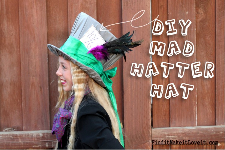 Best ideas about DIY Mad Hatter Hat . Save or Pin DIY Mad Hatter Hat and Costume Find it Make it Love it Now.