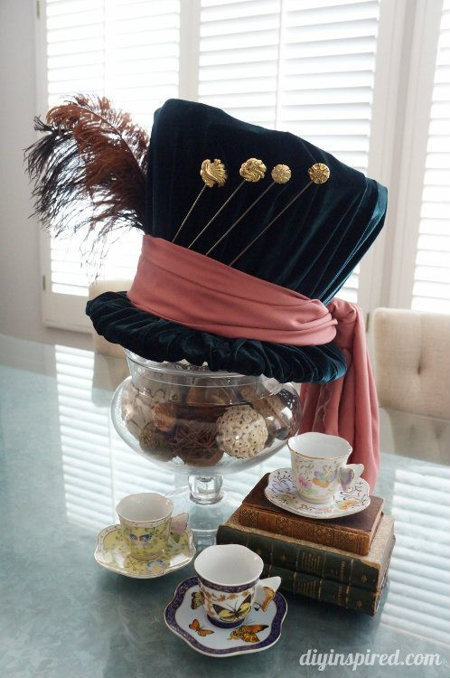 Best ideas about DIY Mad Hatter Hat . Save or Pin DIY Mad Hatter Top Hat DIY Inspired Now.