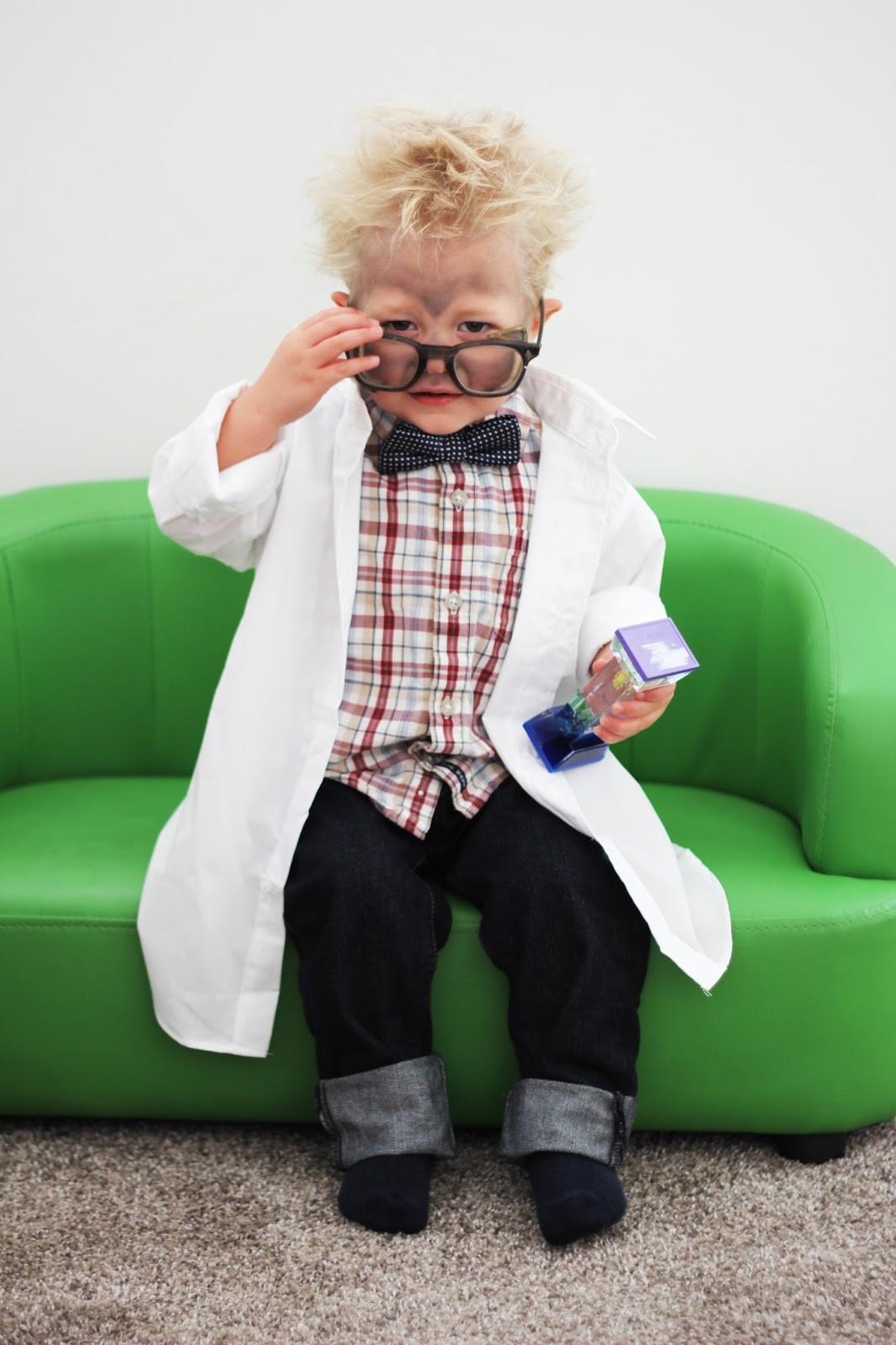 Best ideas about DIY Mad Scientist Costume . Save or Pin DIY Mad Scientist Halloween Costume Lou Lou Girls Now.