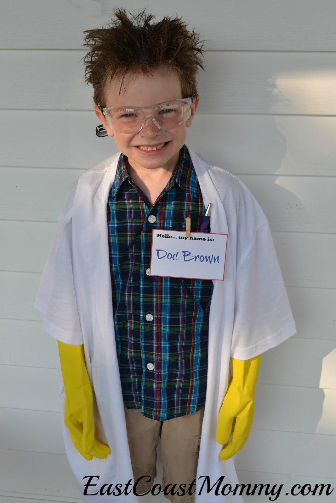Best ideas about DIY Mad Scientist Costume . Save or Pin East Coast Mommy 20 Awesome No Sew Costumes for Kids Now.