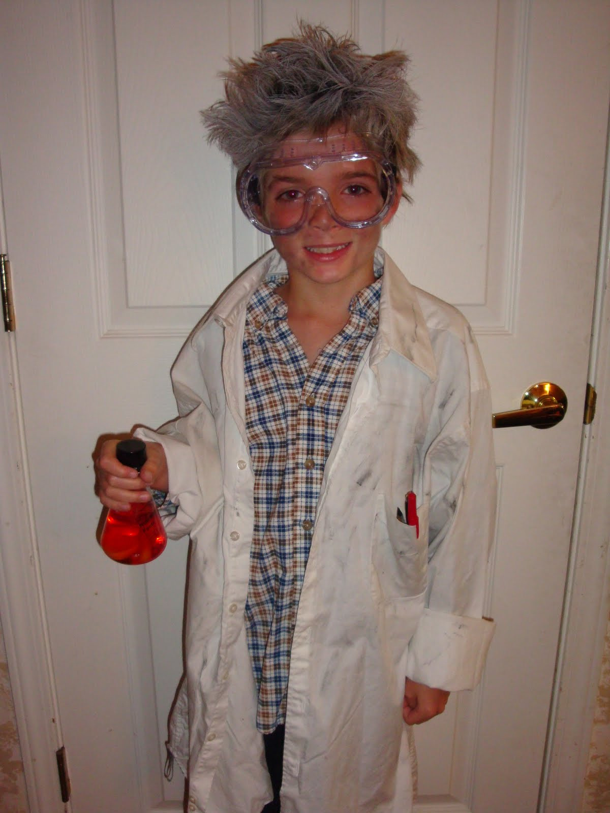 Best ideas about DIY Mad Scientist Costume . Save or Pin Piece Scrap Sales on eBay Mad Scientist Homemade Costumes Now.