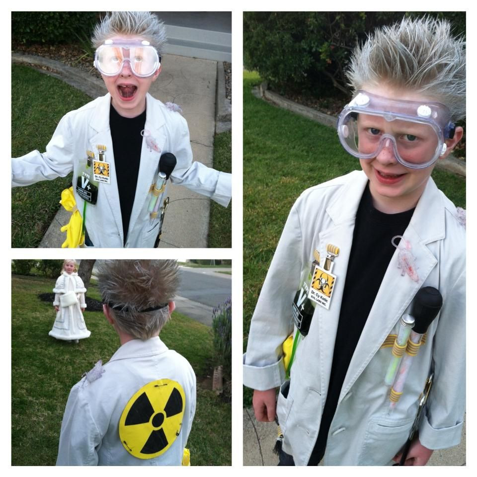Best ideas about DIY Mad Scientist Costume . Save or Pin Mad Scientist Halloween Costume 2013 Now.