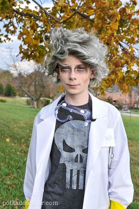 Best ideas about DIY Mad Scientist Costume . Save or Pin kids mad scientist costume The Polka Dot Chair Now.