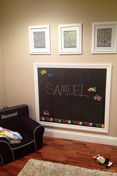 Best ideas about DIY Magnetic Chalkboard . Save or Pin DIY Magnetic Chalkboard Wall – The Culinary Couple Now.