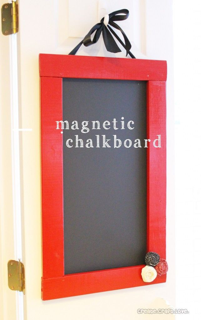 Best ideas about DIY Magnetic Chalkboard . Save or Pin 17 Best ideas about Magnetic Chalkboard on Pinterest Now.
