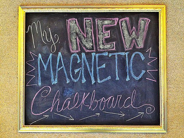 Best ideas about DIY Magnetic Chalkboard . Save or Pin Wired and Inspired DIY Now.