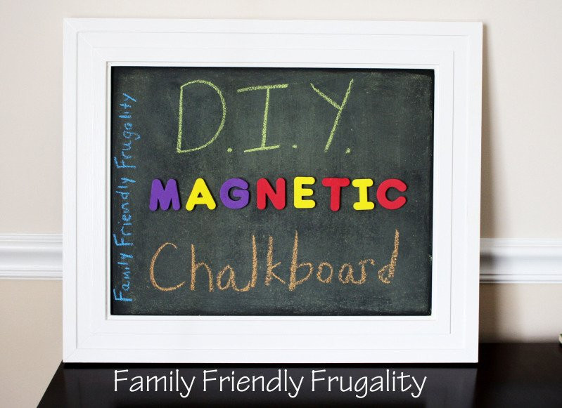 Best ideas about DIY Magnetic Chalkboard . Save or Pin Get Creative DIY Magnetic Chalkboard Now.
