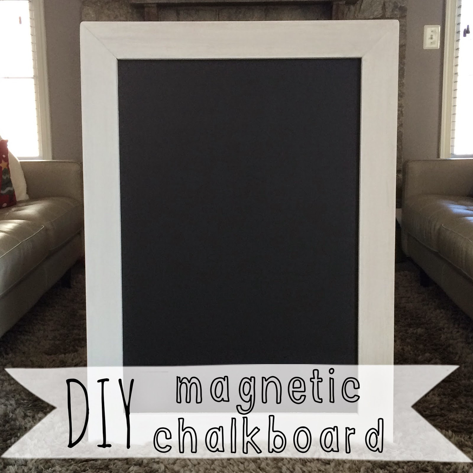 Best ideas about DIY Magnetic Chalkboard . Save or Pin LeroyLime DIY Magnetic Chalkboard Now.