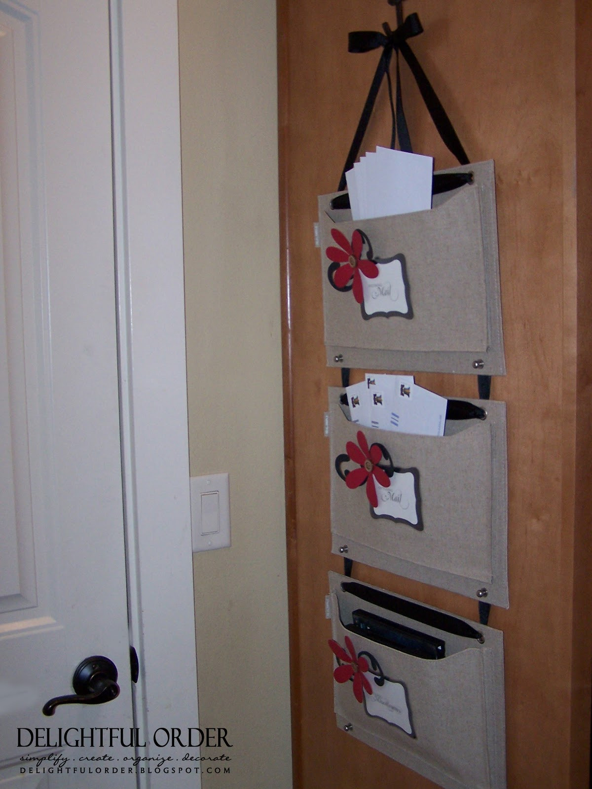Best ideas about DIY Mail Organizer Cardboard . Save or Pin Delightful Order Mail Organizer Now.
