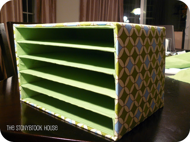 Best ideas about DIY Mail Organizer Cardboard . Save or Pin Mail Organizer DIY The Cheap The Stonybrook House Now.