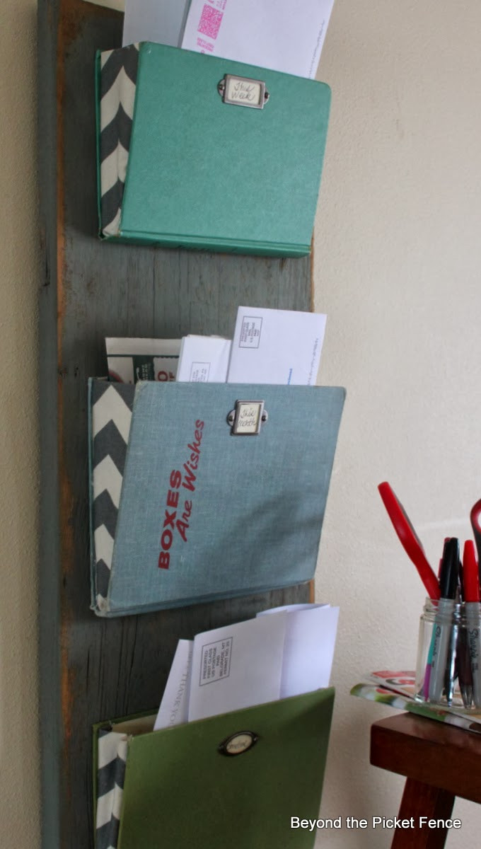 Best ideas about DIY Mail Organizer Cardboard . Save or Pin 20 fice Organization Tips The Idea Room Now.