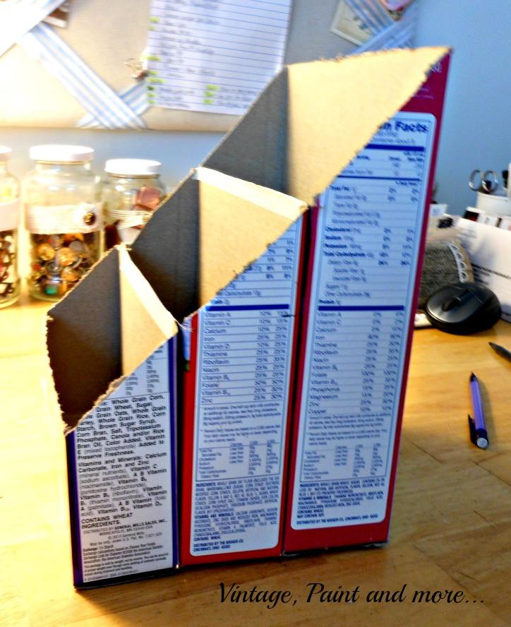 Best ideas about DIY Mail Organizer Cardboard . Save or Pin DIY Paper Organizer Now.