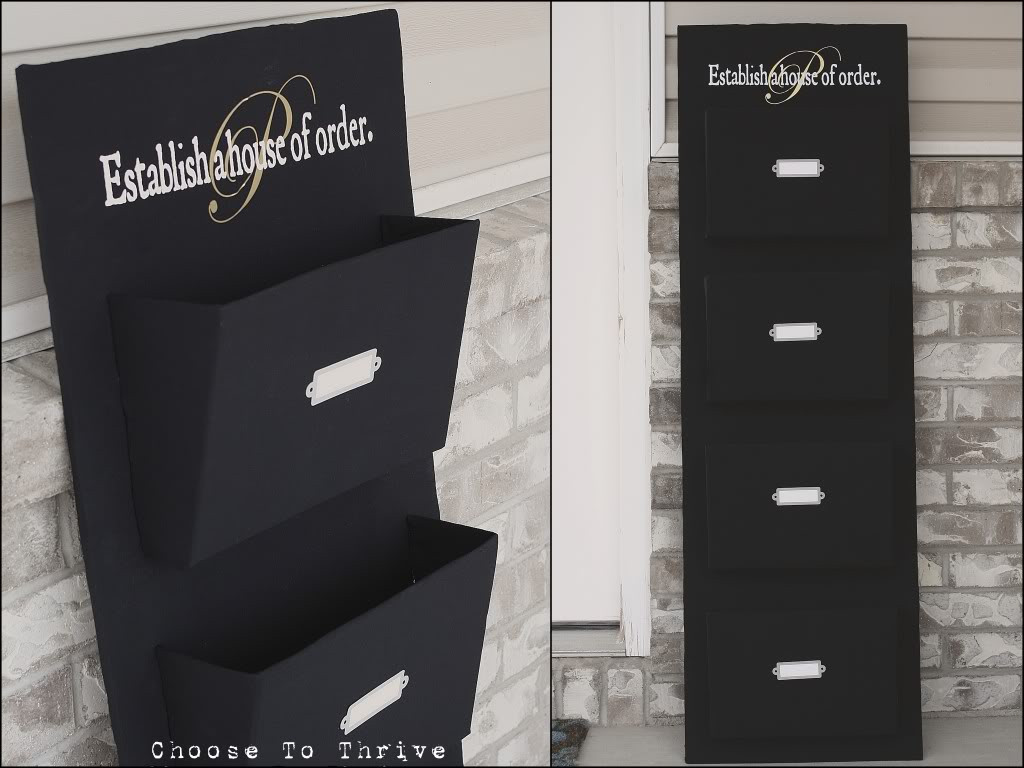 Best ideas about DIY Mail Organizer Cardboard . Save or Pin The Goodlaff Girl Red Letter Sorting Day Now.