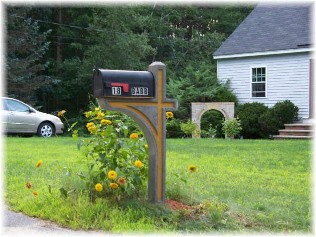 Best ideas about DIY Mailbox Plans . Save or Pin Build Double Mailbox Post Plans DIY wood stove design Now.