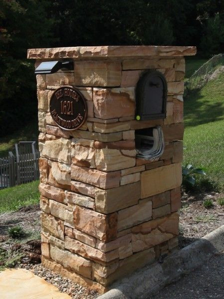 Best ideas about DIY Mailbox Plans . Save or Pin Building A Brick Mailbox Post WoodWorking Projects & Plans Now.