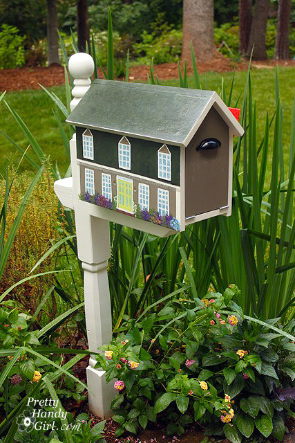 Best ideas about DIY Mailbox Post Ideas . Save or Pin DIY Mailbox Ideas Now.